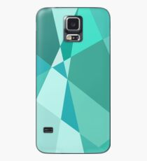 Minty Jagged Edges Case/Skin for Samsung Galaxy