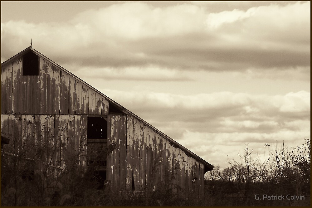 Bygone Era #2: Abandoned Farmhouse by Gregory Colvin