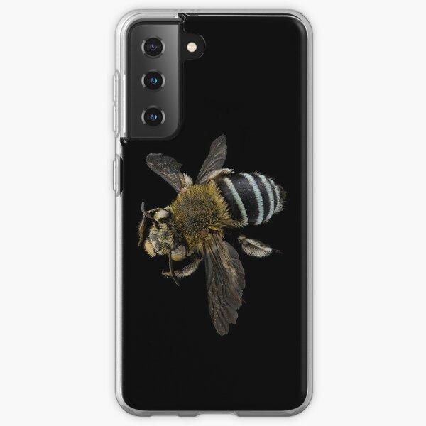Blue banded bee (Amegilla species) Samsung Galaxy Soft Case
