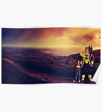 Android Sunsets Poster