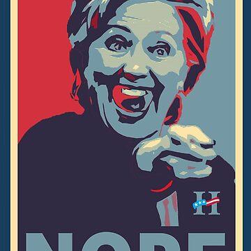 Hillary Clinton - Nope by Alpha-Attire