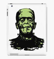 Retro Frankenstein Monster- Lime Green iPad Case/Skin