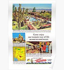 tucson in friendly arizona Poster
