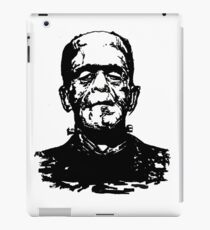 Retro Frankenstein- Transparent iPad Case/Skin