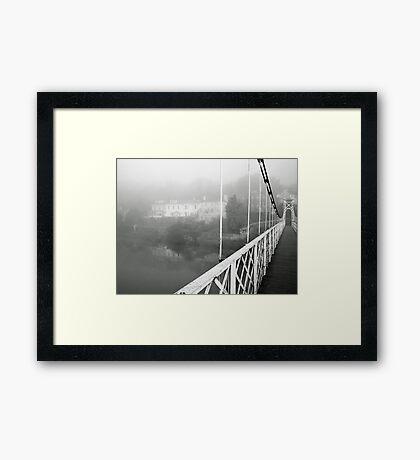 Shakey Bridge Framed Print