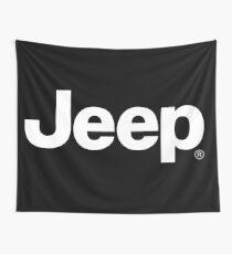 JEEP logo Wall Tapestry