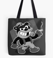 Smokey the Retro Bear Tote Bag