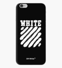 Off-White Spray Diagonals (Dark) iPhone Case