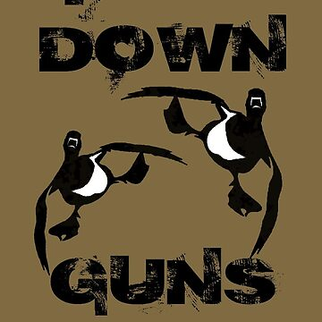 Feet Down Guns Up Phone Case by Funny As Duck by FunnyAsDuck