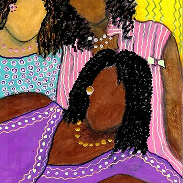 Mellow Sistahs by alwfineart