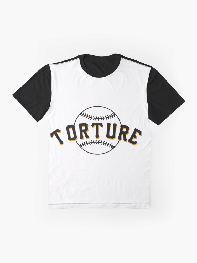 Alternate view of I Love Baseball Torture Fan Club Shirt 28001 Graphic T-Shirt