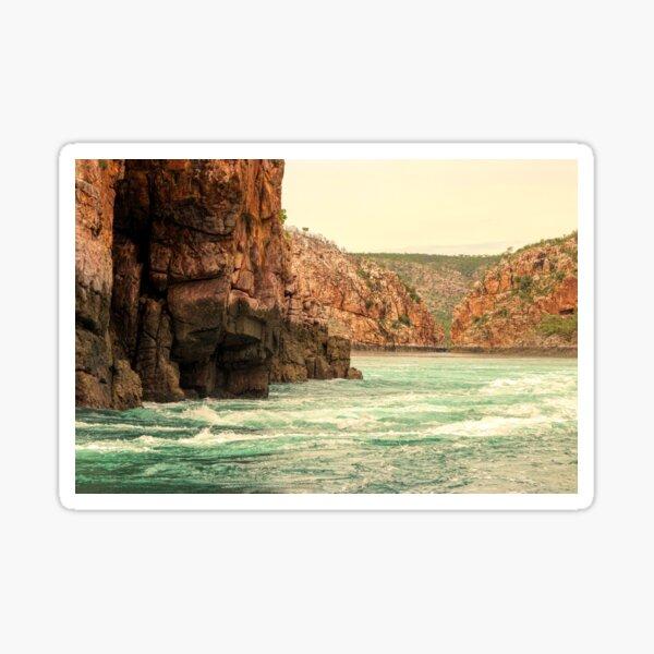Horizontal Falls Sticker