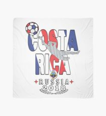 Costa rica world cup soccer Russia in 2018 Tshirt Championship Scarf