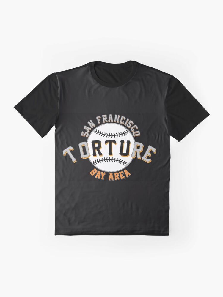Alternate view of I Love Baseball Torture Fan Club Shirt 28101 Graphic T-Shirt