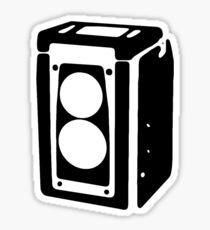 Duaflex love (black) Sticker