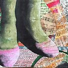 pink shoes/green stockings by mickpro
