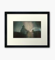 Binsted Church Solargarphy Framed Print