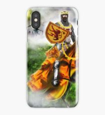 King Robert the Bruce at Bannockburn, Stirling in Scotland 1314AD [Historical Figure Drawing] iPhone Case