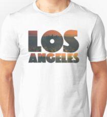 Camiseta unisex Texto gráfico de Los Ángeles