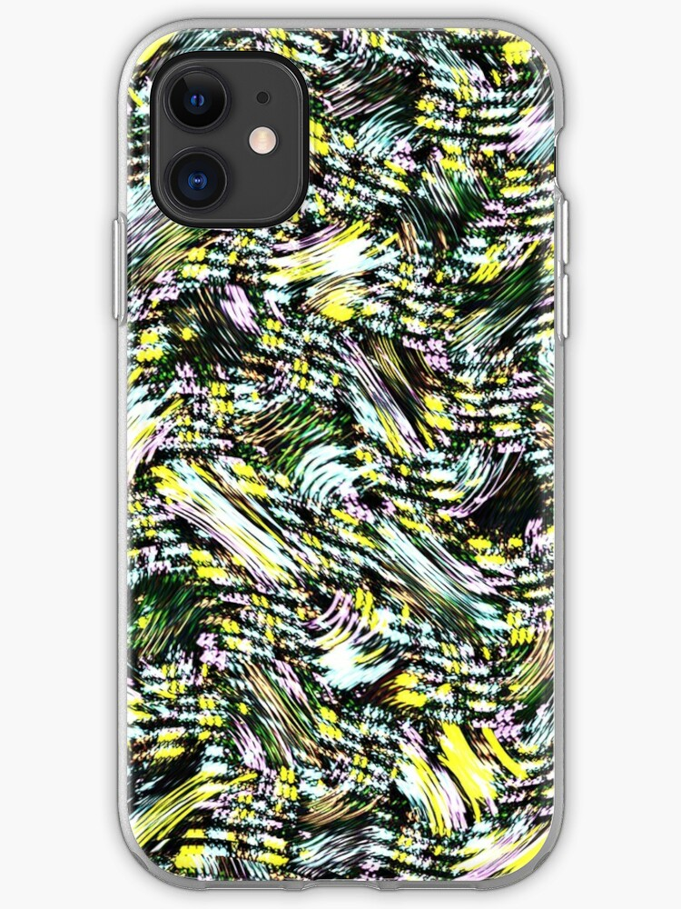 Abstract Graphic Black Yellow Starry Night Wallpaper Iphone Case Cover By Susurrationstud Redbubble