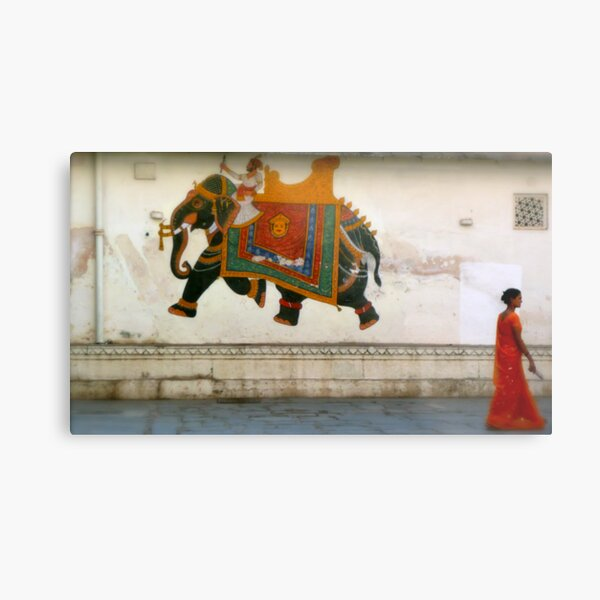 the elephant on the wall Metal Print