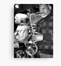 LA and His Sax Canvas Print