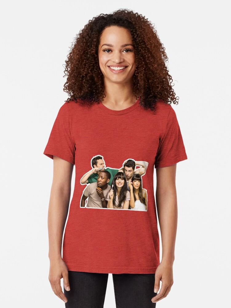 Alternative Ansicht von NEW GIRL Vintage T-Shirt