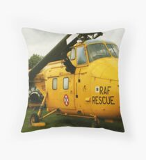 rescue helicopter Throw Pillow
