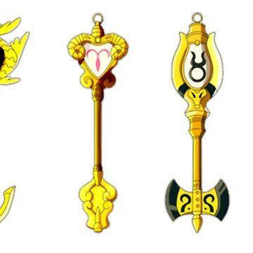 Celestial Keys (7-12) by Migs-O-Arts