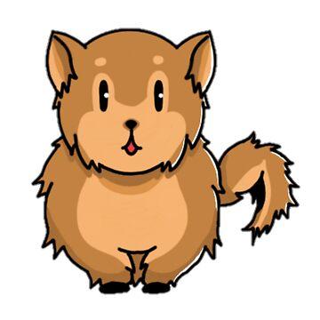Pomeranian by Migs-O-Arts