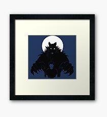 Beast in me (2) Framed Print
