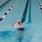 Swimmer Doing Warm Up Laps by Buckwhite