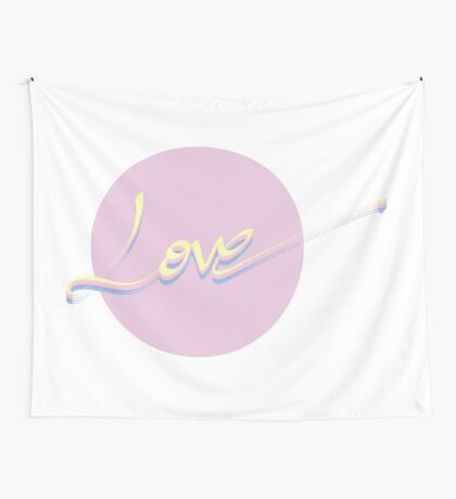 Love #redbubble #love Wall Tapestry