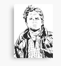Marty McFly–Back to the Future Canvas Print