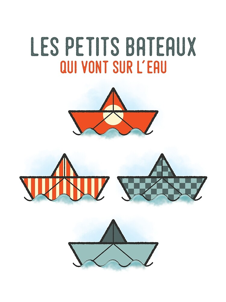 Les Petits Bateaux - Nautical Flags Edition by the99thstudio