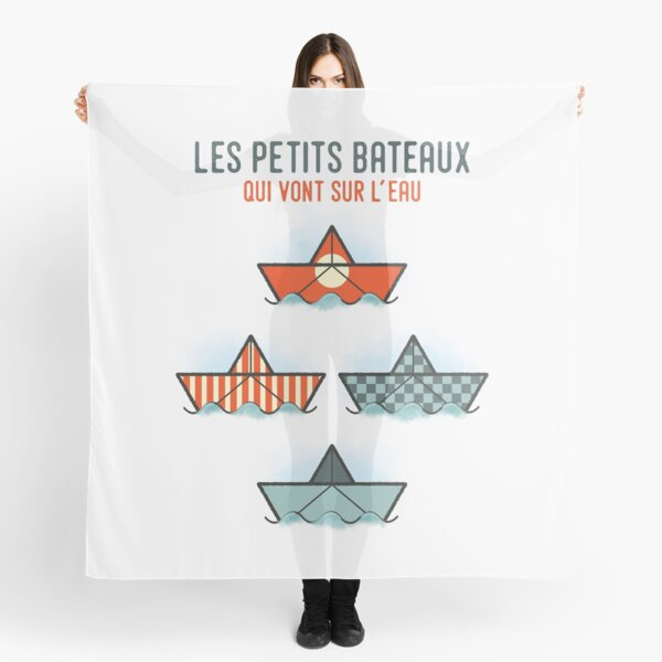 Les Petits Bateaux - Nautical Flags Edition Scarf