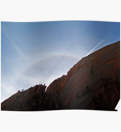 Halo - Zion National Park Poster