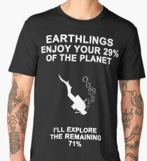Funny Scuba Diving Gift Men's Premium T-Shirt