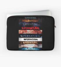 Supernatural intro seasons 1-10 Laptop Sleeve