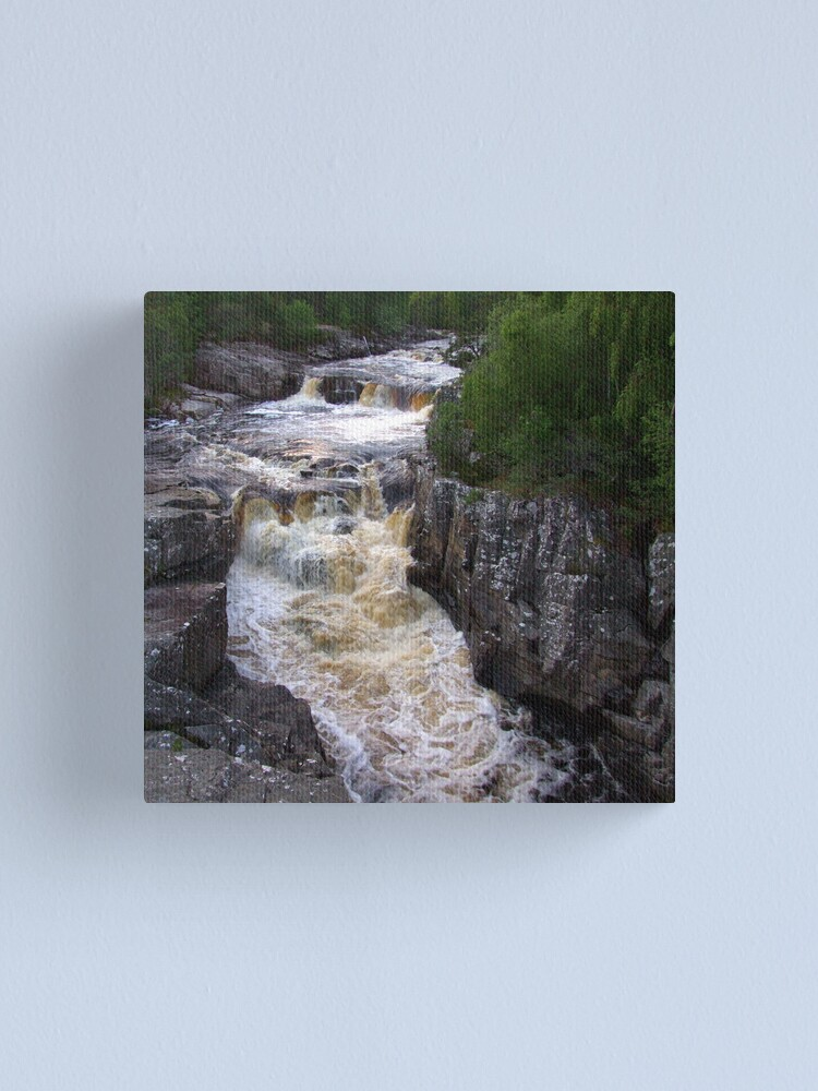 Alternate view of Unknown Falls Canvas Print