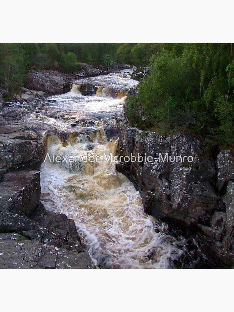 Unknown Falls by Alexanderargyll