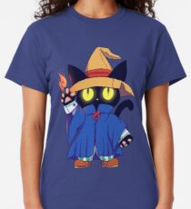 Black mage Fantasy Cat  Classic T-Shirt