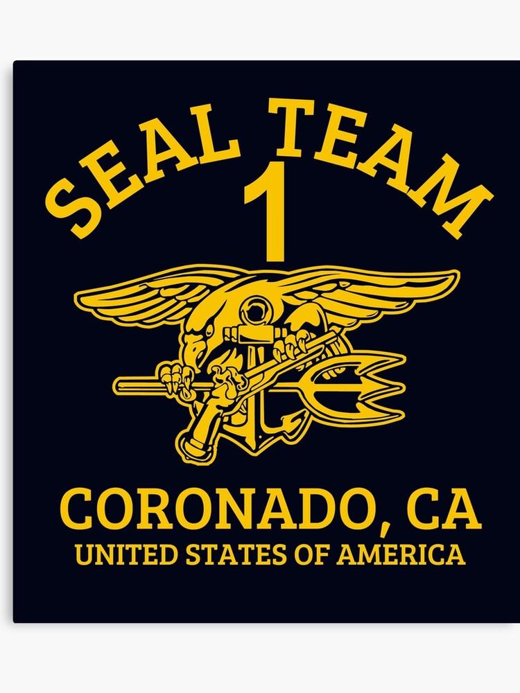 U S  Navy SEALS - Seal Team 1   Canvas Print
