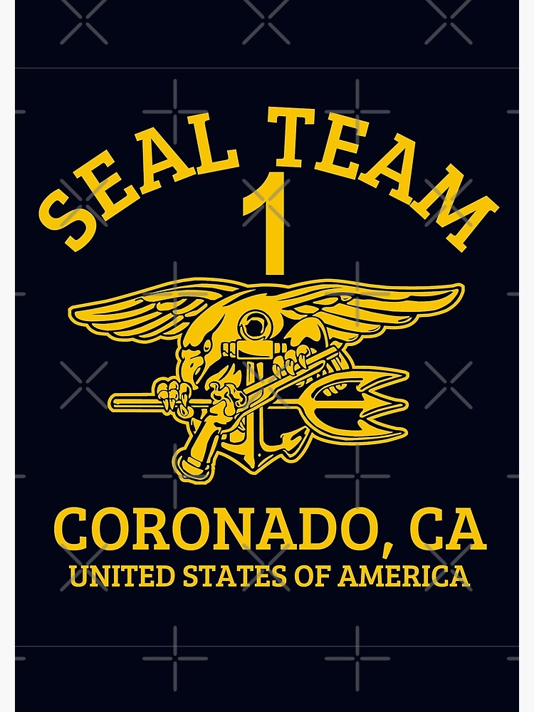 U S  Navy SEALS - Seal Team 1 | Spiral Notebook