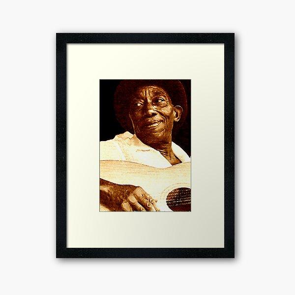 mississippi John Hurt Framed Art Print