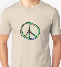 Peace in all colors Unisex T-Shirt