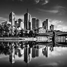 Melbourne Reflected 3 by Christine Wilson