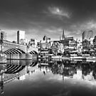 Melbourne Reflected 2 by Christine Wilson