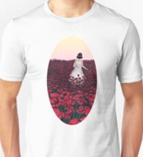 Field of Poppies | Coloured Version Unisex T-Shirt