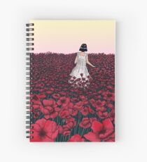 Field of Poppies | Coloured Version Spiral Notebook